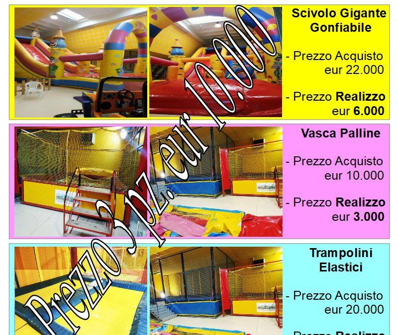 Bacheca #AnnunciVendita : *** Vendesi Parco Giochi *** Info 348-0188208 // cod.T200110E01